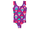 Hatley Kids Ice Cream Treats Ruffle Swimsuit (Toddler/Little Kids/Big Kids)