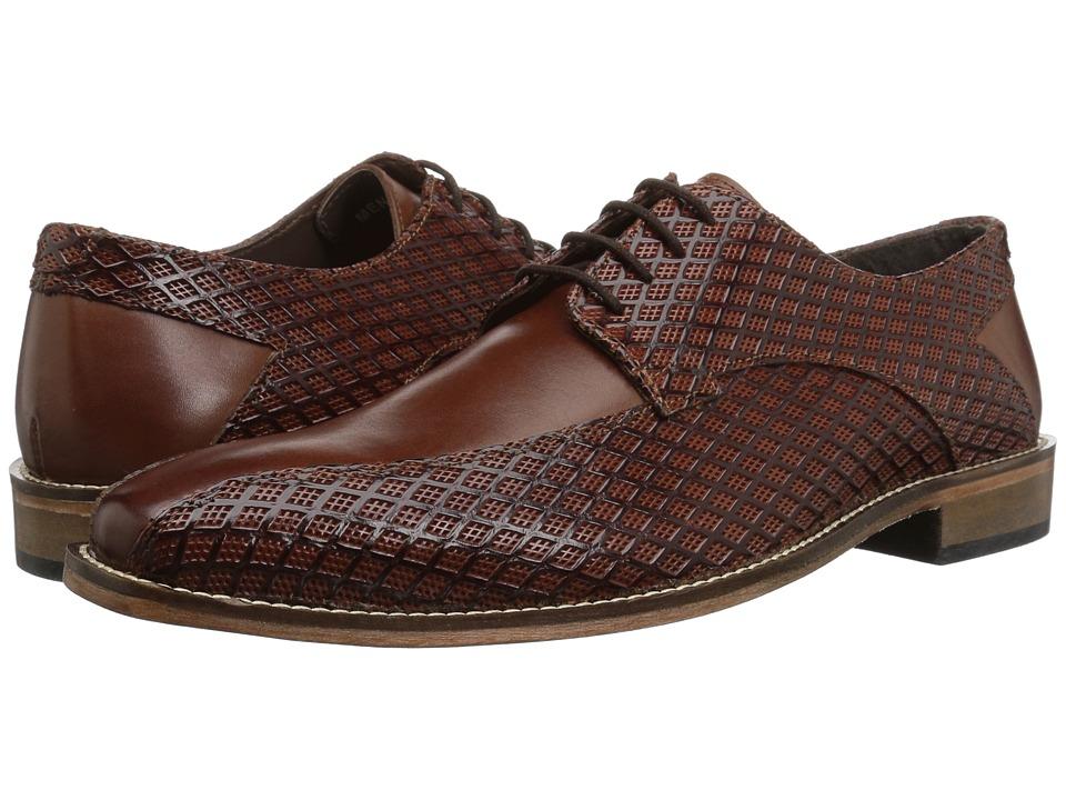 Mens Vintage Style Shoes| Retro Classic Shoes Stacy Adams Gianluca Cognac Mens Shoes $90.00 AT vintagedancer.com