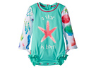 Hatley Kids Ocean Treasures Mini Rashguard Swimsuit (Infant)