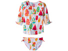 Hatley Kids Fruity Lollies Rashguard Set (Toddler/Little Kids/Big Kids)