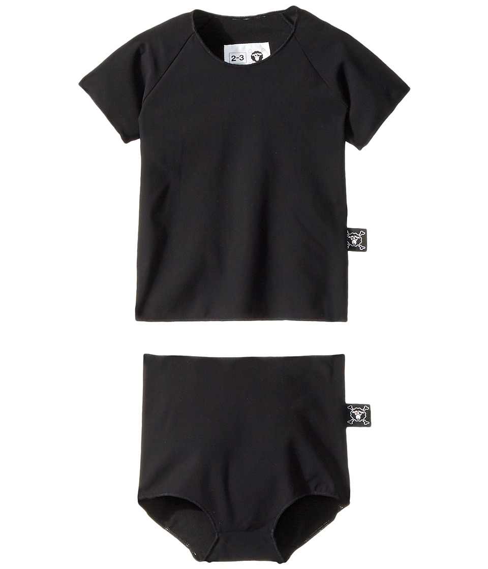 Nununu - Circle Shirtini (Toddler/Little Kids) (Black) Gi...