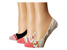 Kate Spade New York Kate Spade New York Mini Bloom 3-Pack Liner Socks