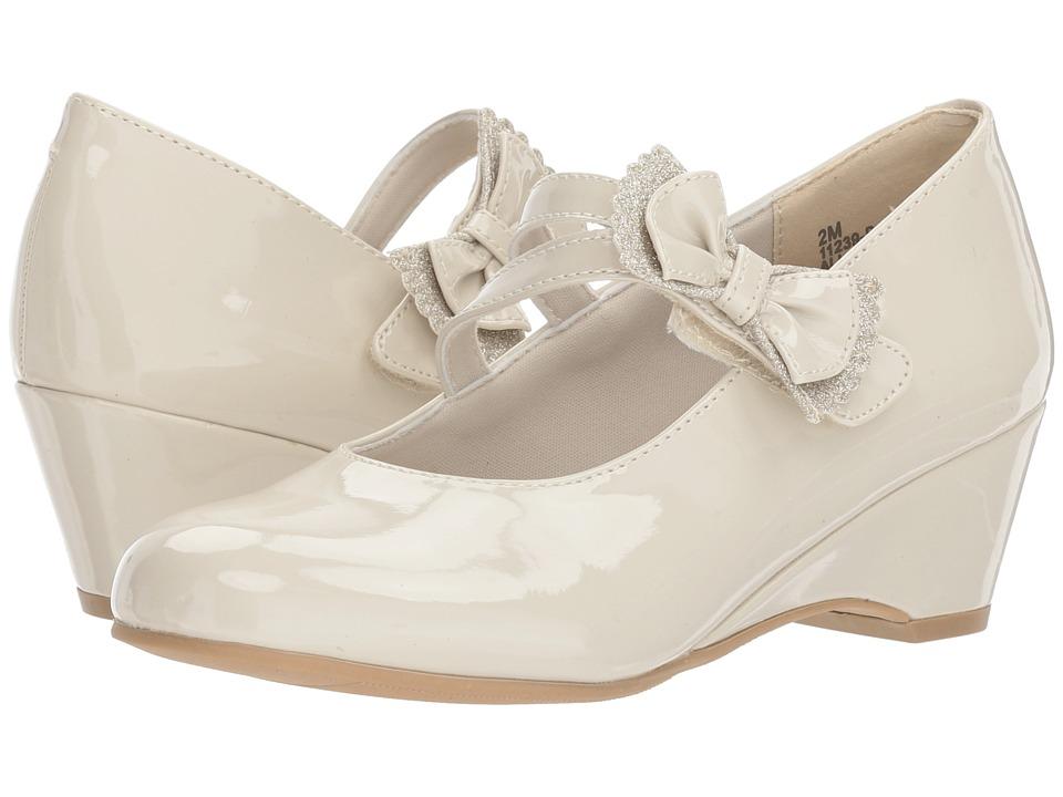 Rachel Kids - Judith (Little Kid/Big Kid) (Bone Patent) Girls Shoes