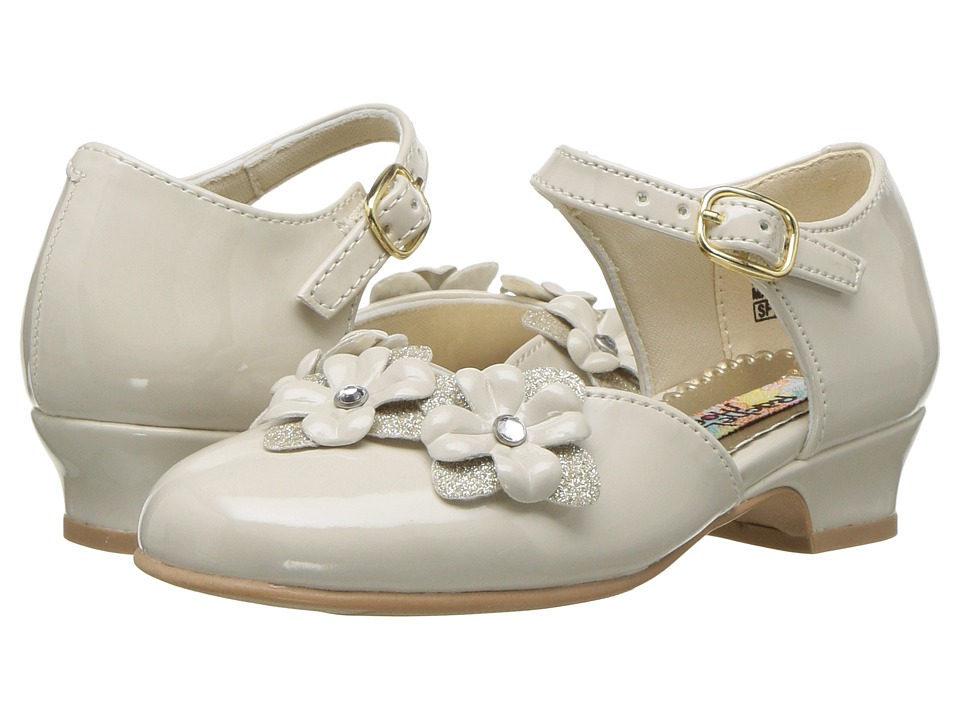 Rachel Kids - Lil Lilah (Toddler/Little Kid) (Bone Patent) Girls Shoes