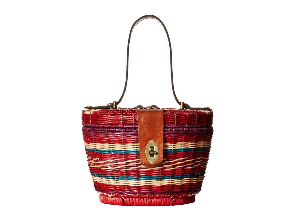 Patricia Nash - Caselle Basket (Multi Stripe) Handbags