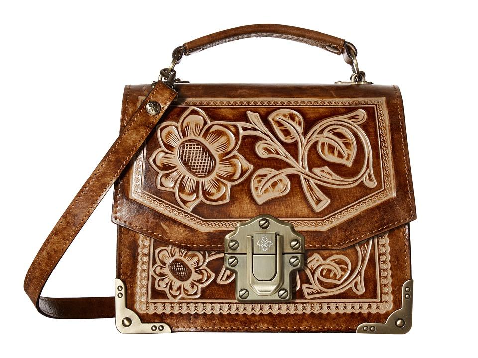 Patricia Nash - Stella Flap Shoulder Bag (Sand 1) Shoulder Handbags