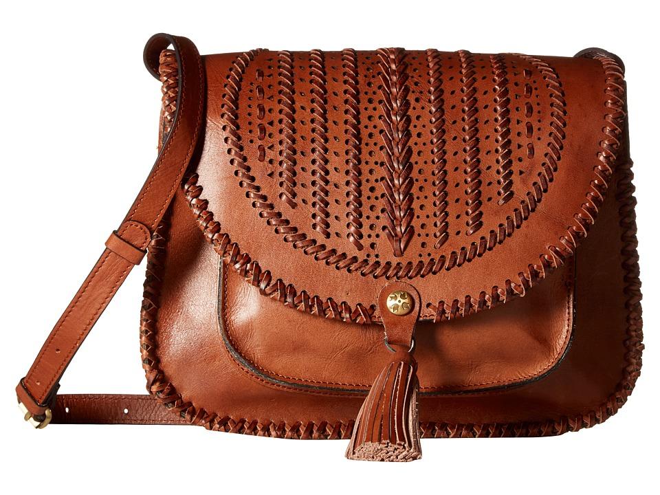Patricia Nash - Barattoli Flap (Tan) Handbags