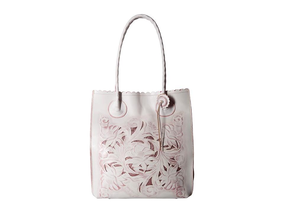 Patricia Nash - Cavo Tote (White/Pink) Tote Handbags