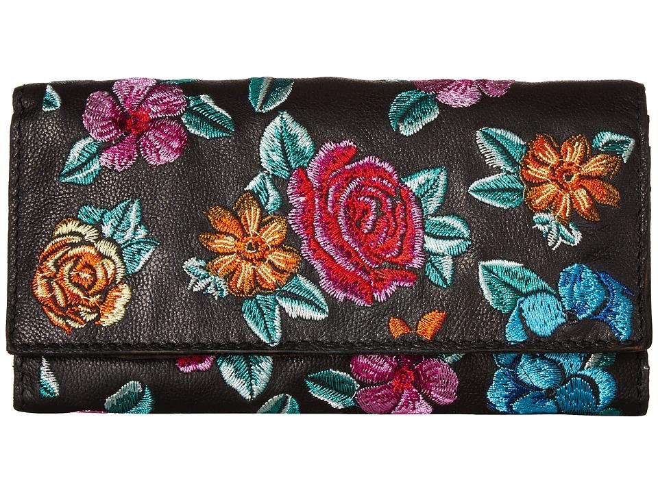 Patricia Nash - Terresa Wallet (Black 2) Wallet Handbags
