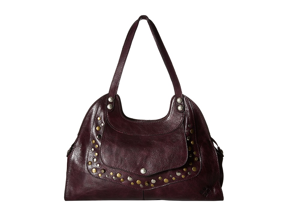 Patricia Nash - Ergo Satchel (Dark Purple) Satchel Handbags