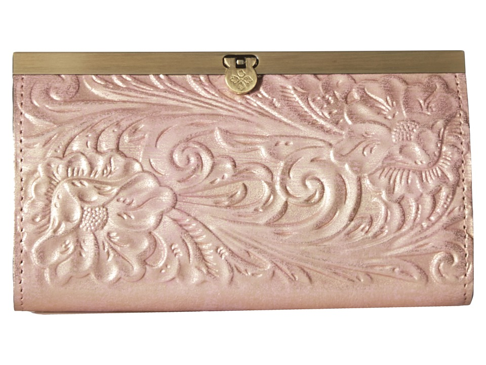Patricia Nash - Cauchy (Pink Metallic) Clutch Handbags