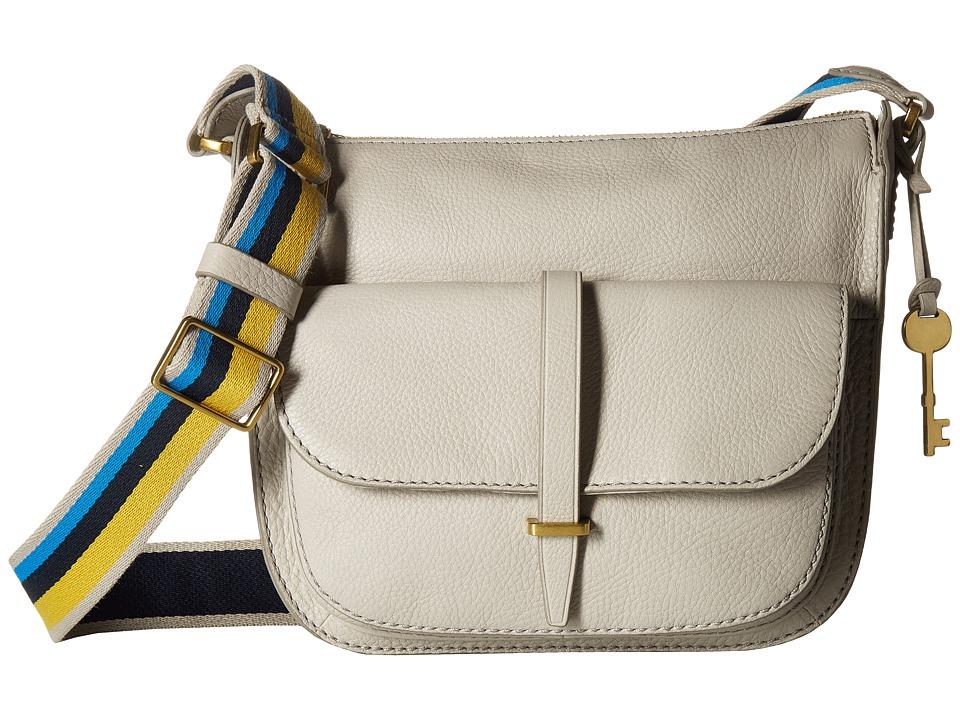 Fossil - Ryder Crossbody (Mineral Gray) Cross Body Handbags