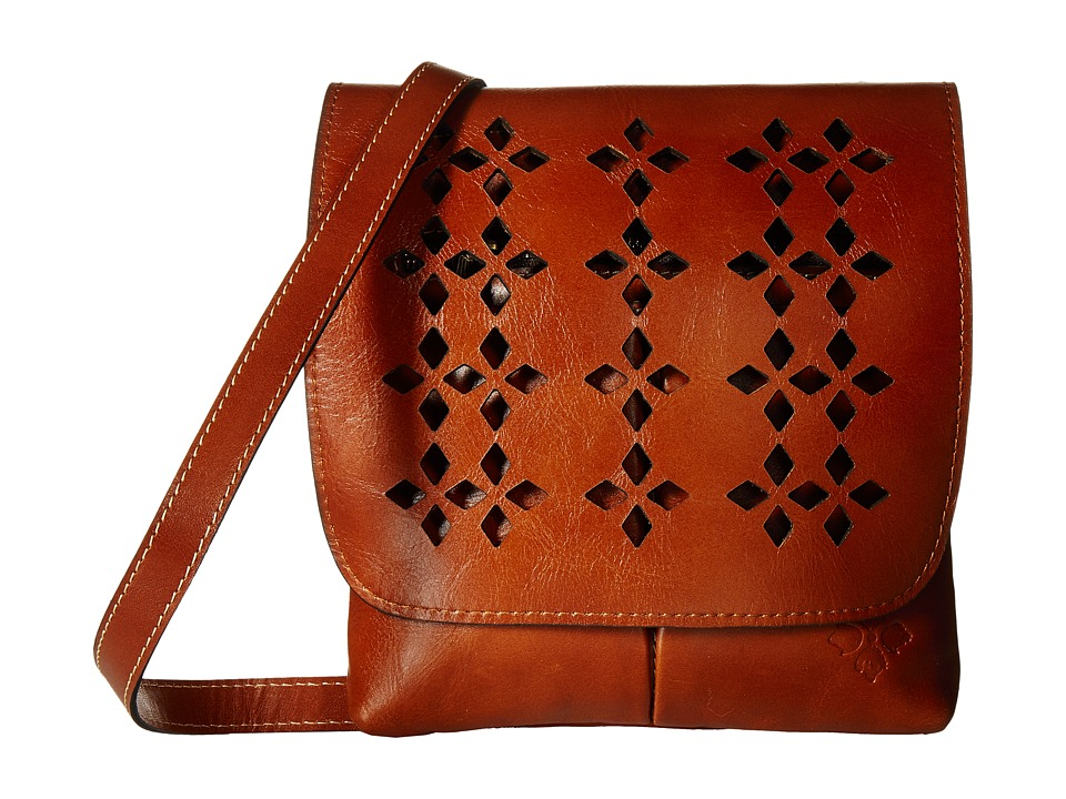 Patricia Nash - Granada Crossbody (Tan 2) Cross Body Handbags