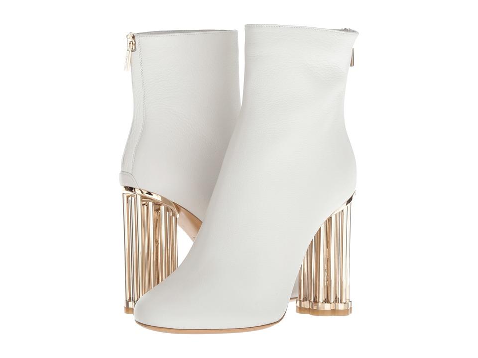 Salvatore Ferragamo Coriano (New Bianco Ottico) Women's Dress Boots