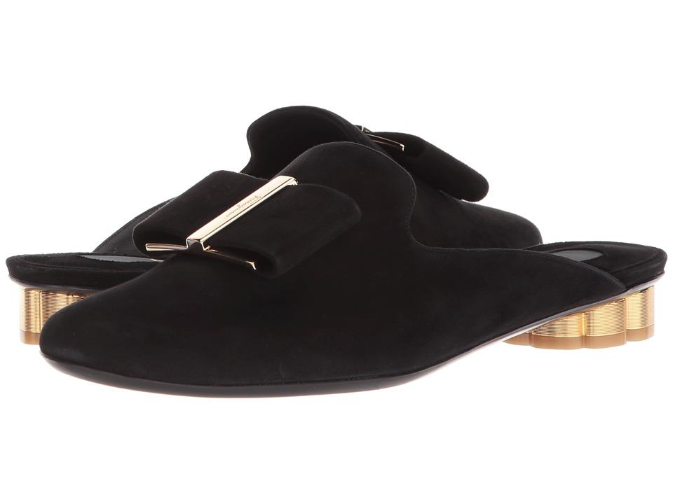 Salvatore Ferragamo Sciacca 1 (Nero) Flats