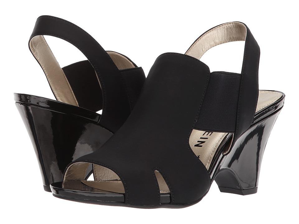 Anne Klein - Grand (Black/Black) Women's Dress Sandals