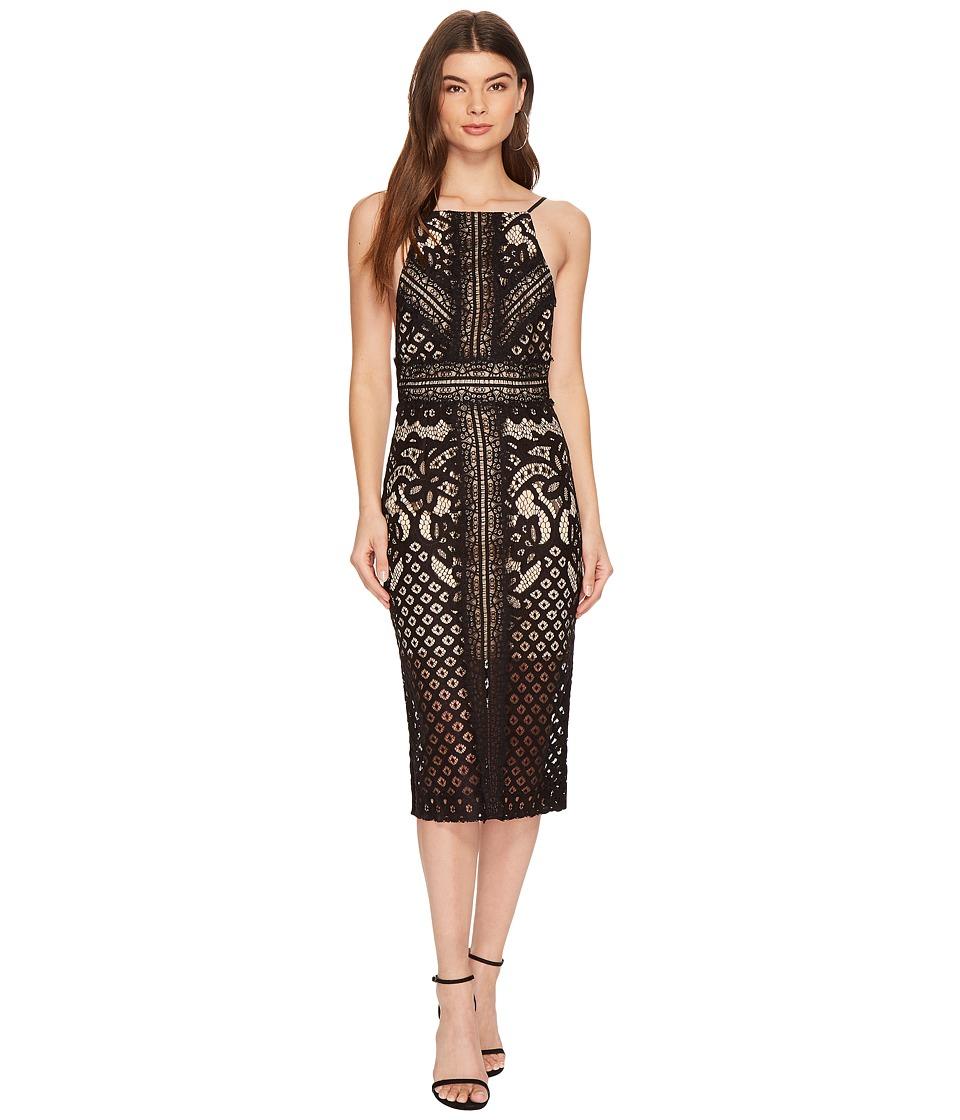 KEEPSAKE THE LABEL Bridges Lace Midi Dress (Black) Women