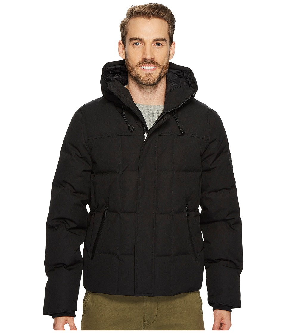 UGG Technical Hip-Length Parka (Black) Men