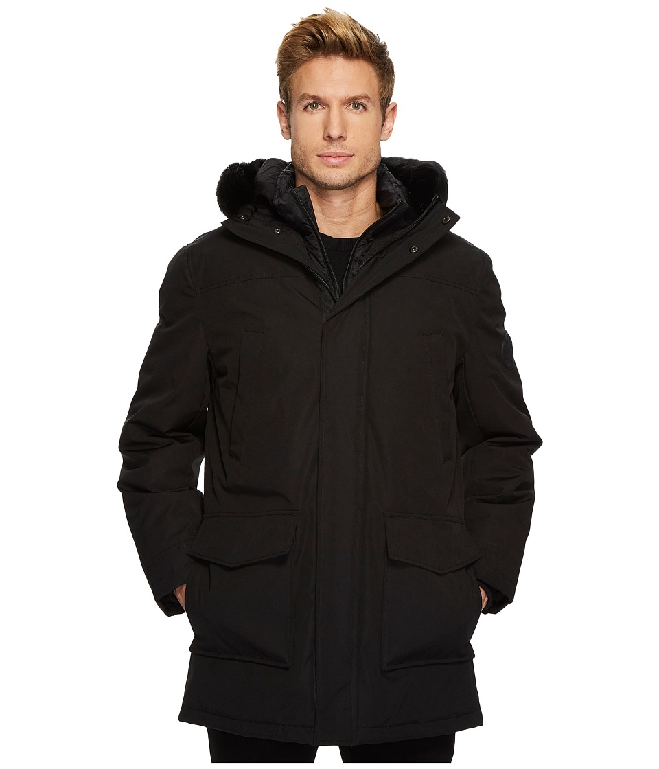 Ugg Butte Parka (Black) Men's Coat