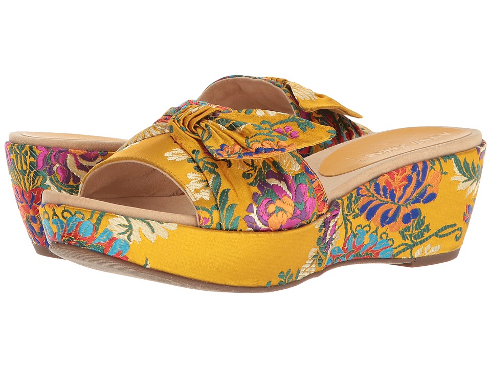 Anne Klein Zandal (Dark Yellow Multi) Wedges