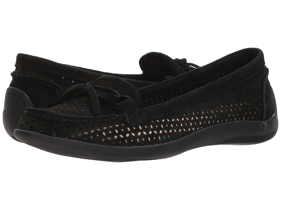 Anne Klein - Zayne (Black) Womens Moccasin Shoes