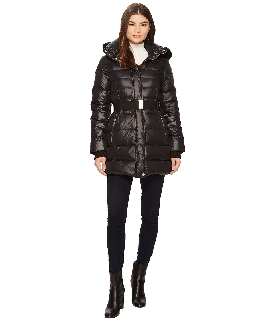 UGG Belted Down Jacket (Black) Women