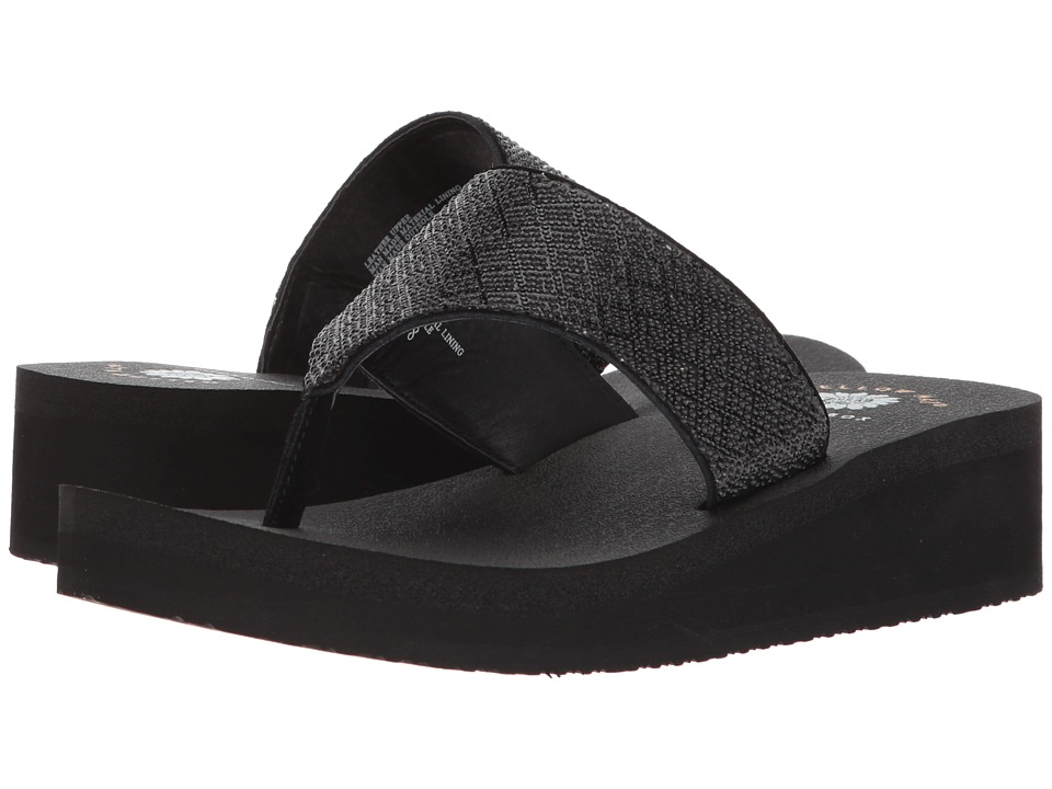 Yellow Box - Adalyne (Black) Women's Sandals