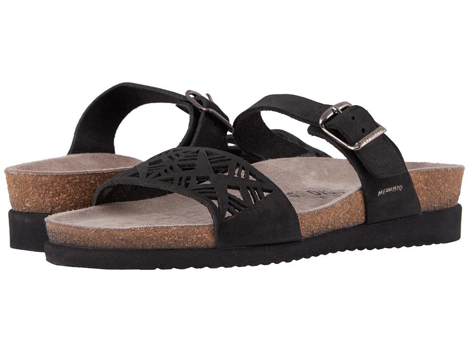 Mephisto - Hirena (Black Nubuck 6000) Womens  Shoes
