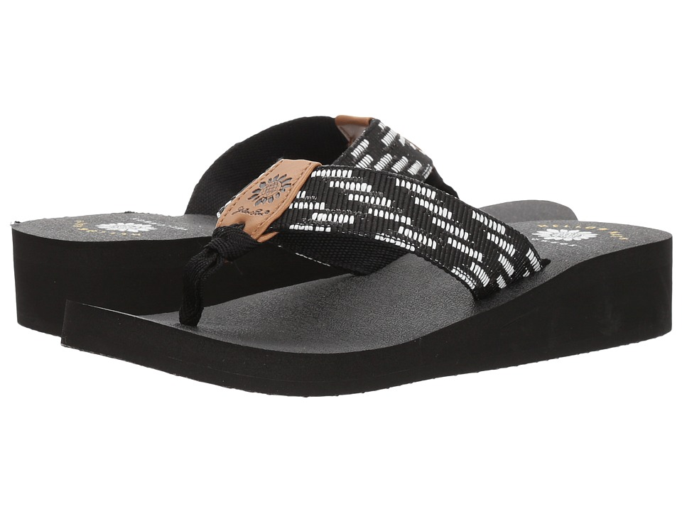 Yellow Box - Emmett (Black) Women's Sandals