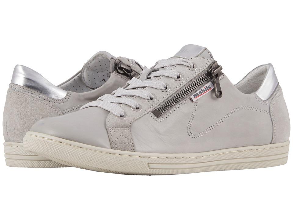 Mephisto - Hawai (Light Grey/Stone/Silver Magic) Womens  Shoes