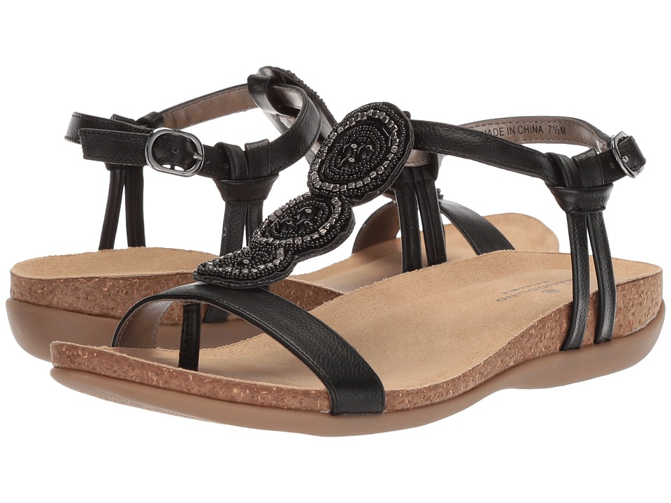 Bandolino Hamper (Black Eternal Lichee Hjah) Women's Shoes