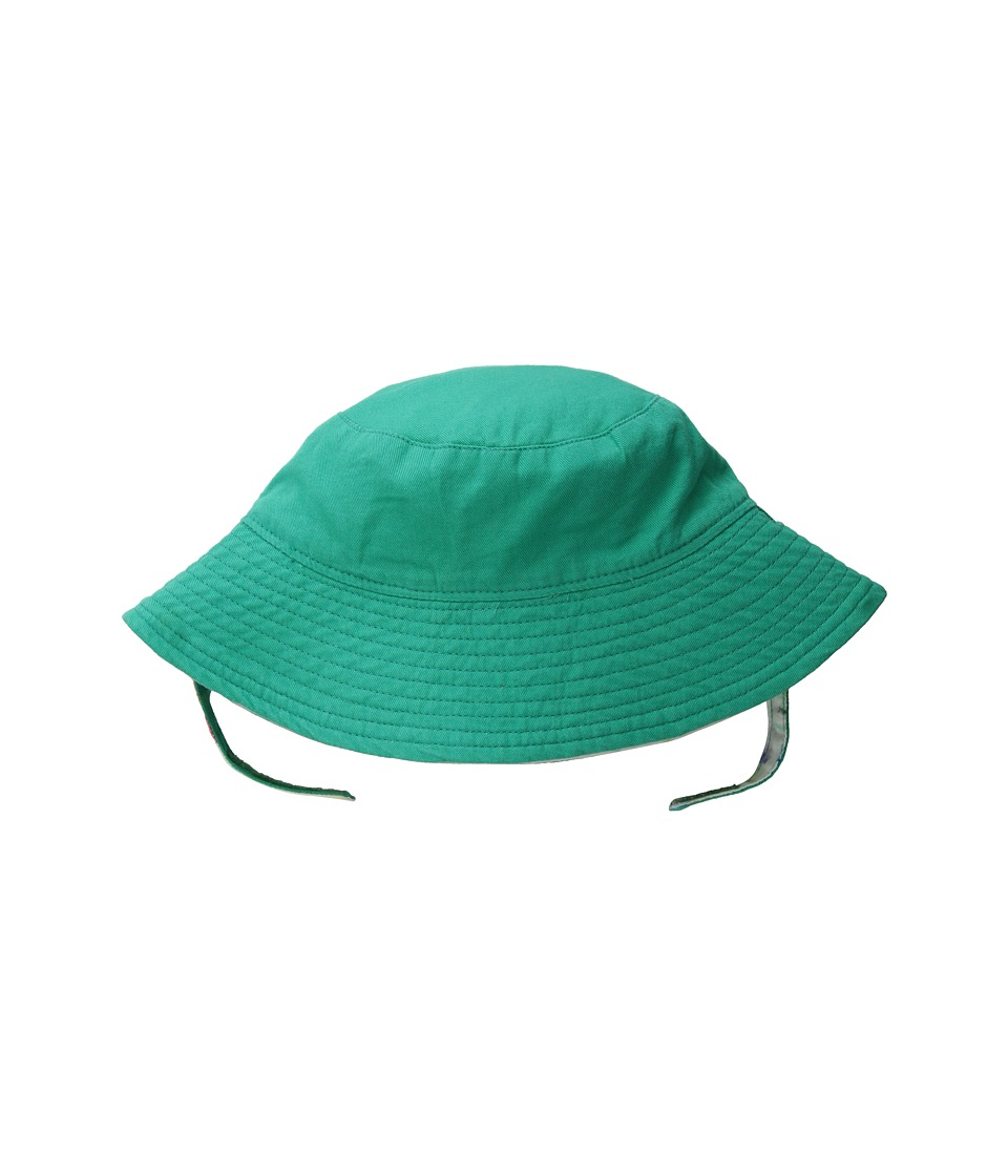 Hatley Kids - Ocean Treasures Reversible Sun Hat (Infant/Toddler/Little Kids) (Aqua) Caps