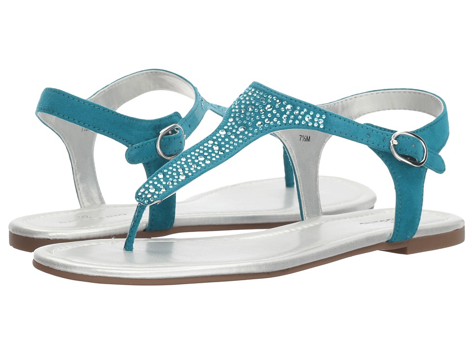 Bandolino Kyrie (Tahiti Teal Faux Suede) Women's Shoes