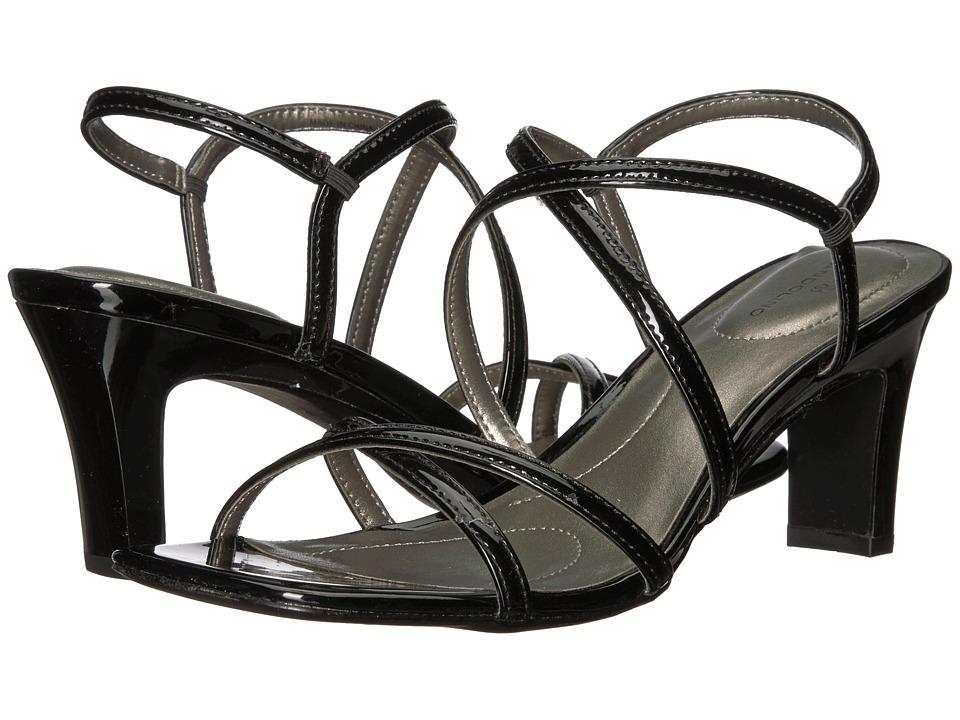 Bandolino Obexx (Black Patent Sleek Patent PU) High Heels