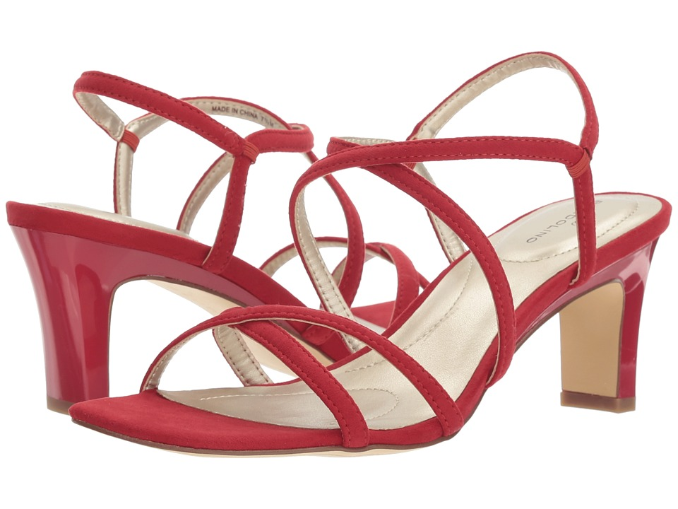 Bandolino Obexx (Crimson Faux Suede) High Heels