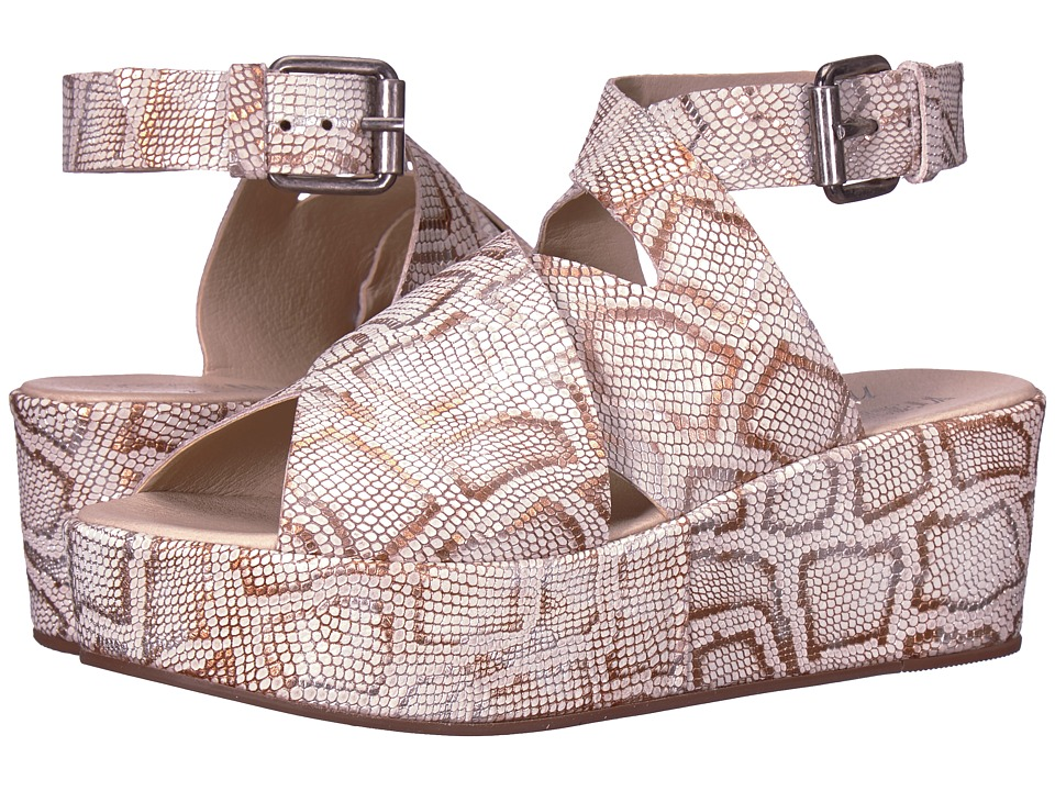 Matisse - Matisse x Amuse Society - Runaway (Natural Metallic Snake) Womens Shoes