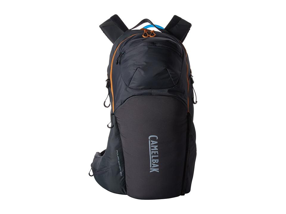 CamelBak - Fourteener 20 100 oz (Charcoal/Rust Orange) Backpack Bags