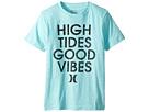 Hurley Kids High Tides Good Vibes Tee (Big Kids)