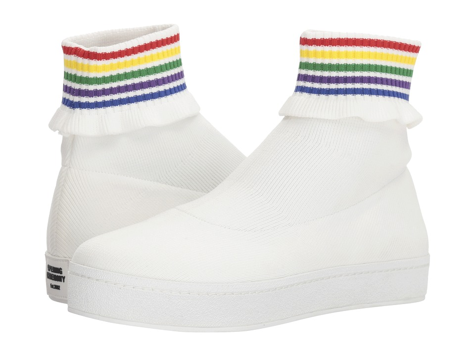 Opening Ceremony - Bobby Slip-On (White Multi) Womens Shoes