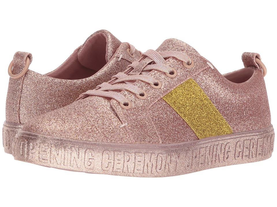 Opening Ceremony La Cienega Glitter (Pink) Women's Shoes