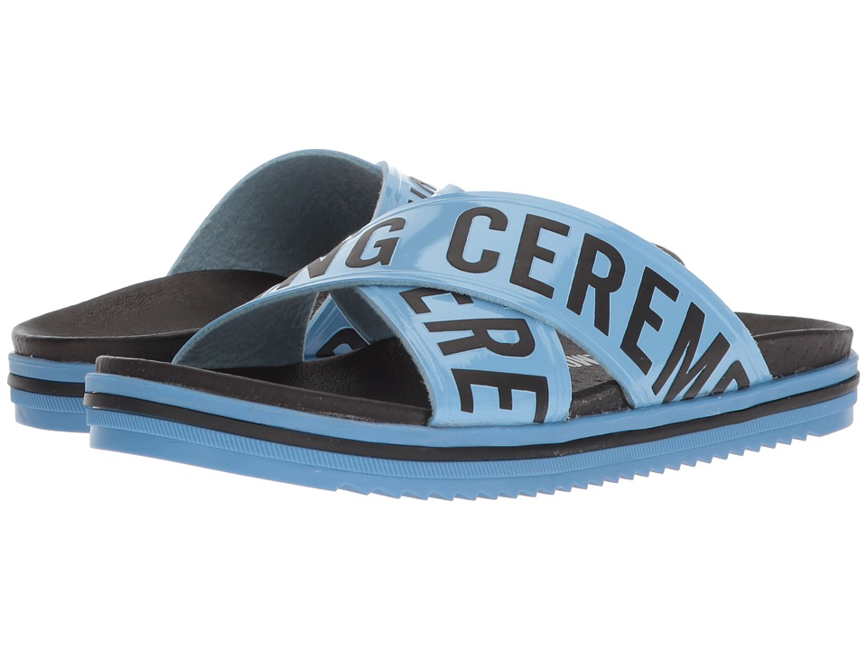 Opening Ceremony - Berkeley Slide (Blue) Womens Shoes