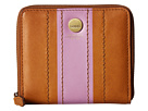 Lodis Accessories Rodeo Stripe RFID Amaya Zip French Wallet