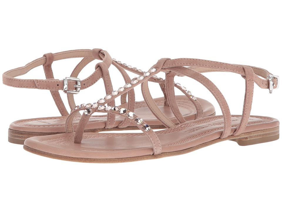 Kennel & Schmenger Elle Strap Sandal (Rosette Suede) Sandals