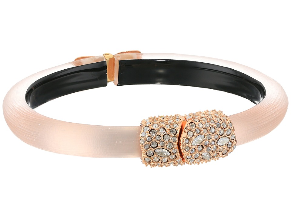Alexis Bittar - Crystal Encrusted Clasp Skinny Hinge Bracelet (Sunset) Bracelet