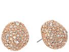 Alexis Bittar Alexis Bittar Crystal Encrusted Button Post Earrings