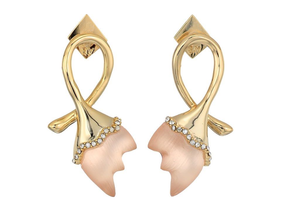 Alexis Bittar - Abstract Tulip Stud Post Earrings with Lucite (Sunset) Earring
