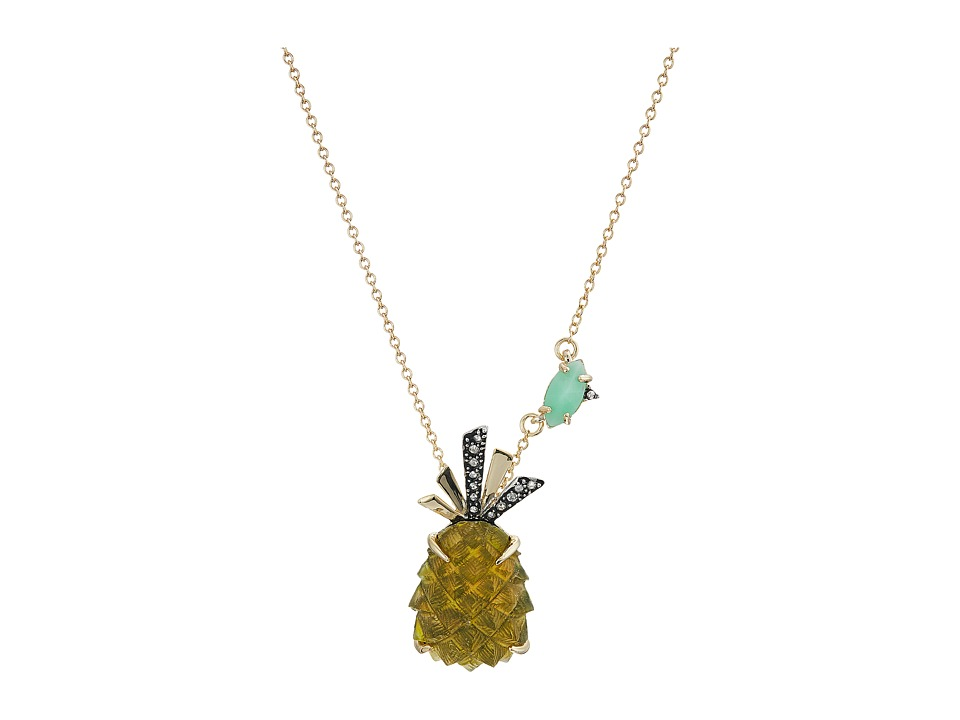 Alexis Bittar - Pineapple Pendant Necklace (Pineapple) Necklace