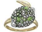 Alexis Bittar Alexis Bittar Crystal Encrusted Lime Ring