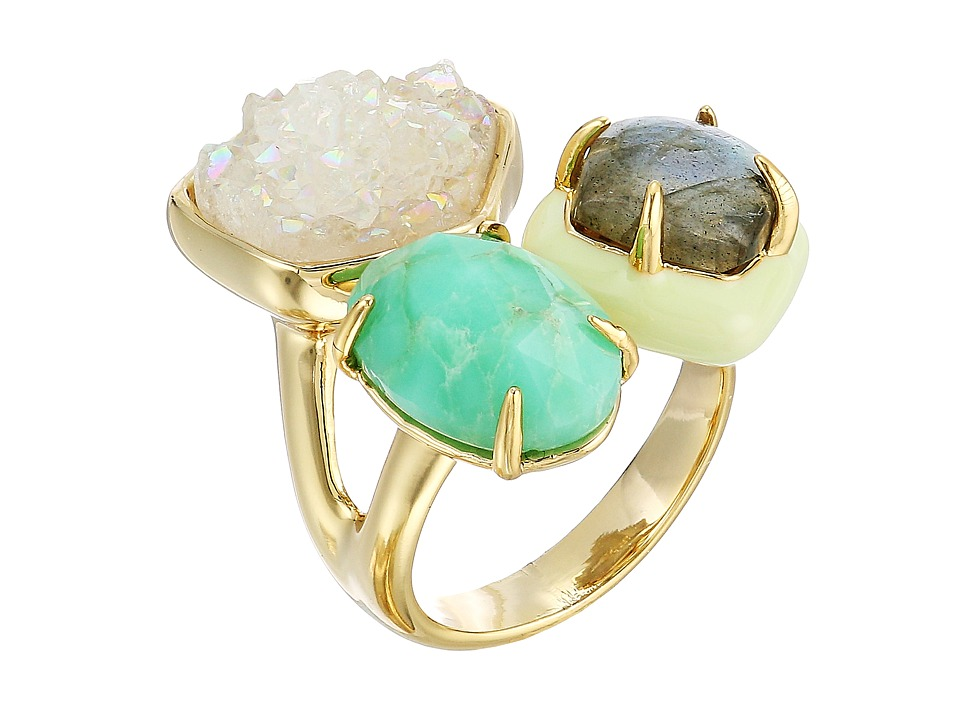 Alexis Bittar - Druzy Stone Cluster Cocktail Ring (10K Gold) Ring