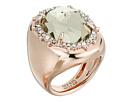 Alexis Bittar Alexis Bittar Crystal Encrusted Halo Stone Ring